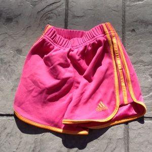 Girls adidas shorts.